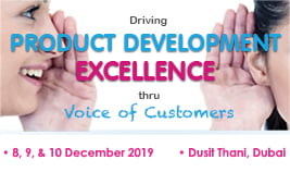 Driving PRODUCT DEVELOPMENT Excellence - thru Voice of the Customers (VOC)